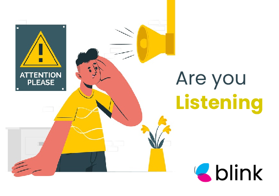 Listen to your customer with Blink for Restaurants