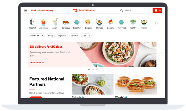 4 Most Influential Food Delivery Services Like Doordash (2021 Guide)